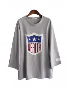 <br>星财富印花T恤<br> <b><font color=#6b0e04>T恤衬衫第二项</font></b>